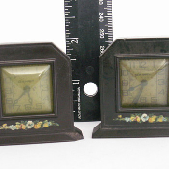 New Haven Miniature Clocks