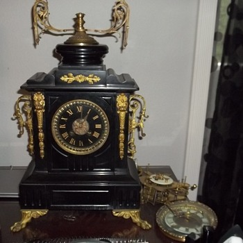 french clock,don't know too much about this one.