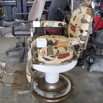 Koken Barber Chair - Furniture