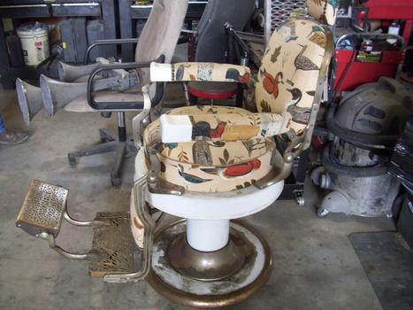Koken barber chair collectors weekly - Deco klassiek koken ...