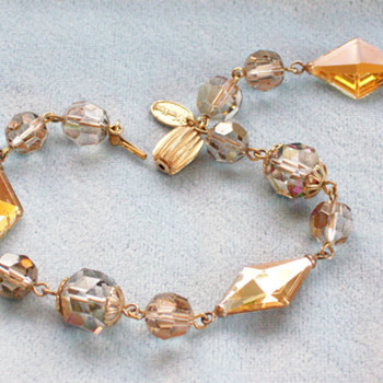 Vendome 'Firebird' crystal bracelet - Costume Jewelry