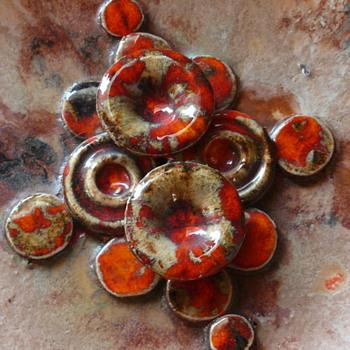 Ruscha mushroom wall plate
