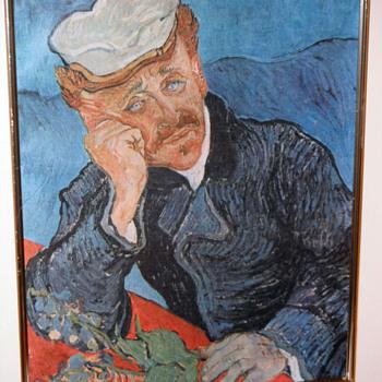 Portrait of Dr. Gachet by the Dutch artist Vincent van Gogh