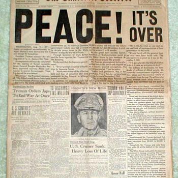 1945 - Charlotte Observer Newspaper