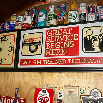 GM clock - Advertising
