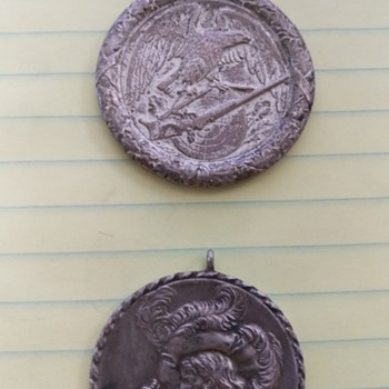 Need Help Identifying, found with old Nazi coins  - Military and Wartime