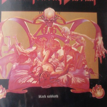 Sabbath Bloody Sabbath LP - Records