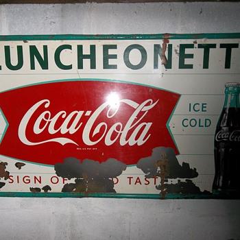 Vintage Coca-Cola Sign