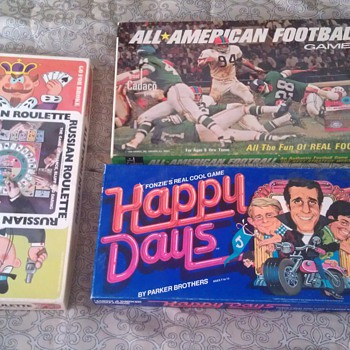 Vintage Board Game Lot - Games