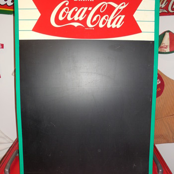 1963 Coca-Cola Menu Board - Coca-Cola