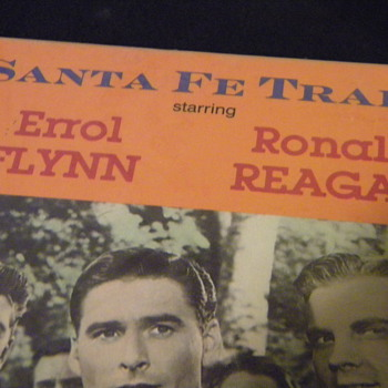Santa Fe Trail VHS - Starring Errol Flynn & Ronald Regan - Movies