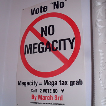 No mega city paper poster. - Posters and Prints