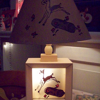 Rudolph Lamp Mary Catherine Hammitt