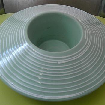 Italian pottery vase