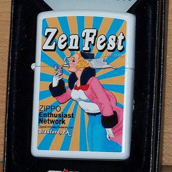 ZenFest Zippo - Tobacciana