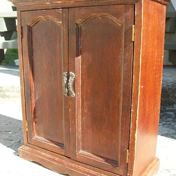 Miniature Cedar Wardrobe Armoire