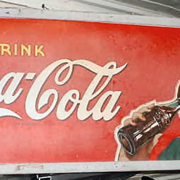 Vintage Coke Sign - Coca-Cola