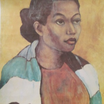 """Nina,"" by Karl R. Broodhagen (1909 - 2002). - Visual Art"