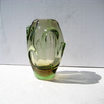 Small Skrdlovice vase - Art Glass