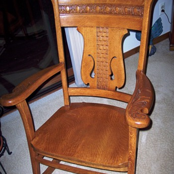 German made Rocker from early 20th century?  - Furniture