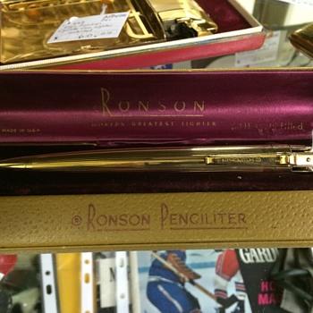 Ronson Penciliter - Tobacciana