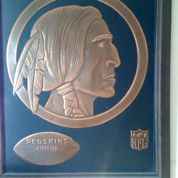 Redskin Memorabilia - Football