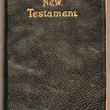 1948 - New Testament Pocket Bible - Books