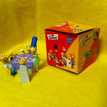 Simpsons Mexican candy premiums - Toys