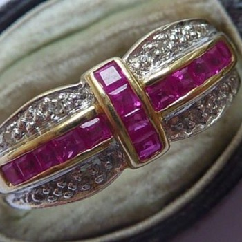 ring diamond and ruby date ? - Fine Jewelry