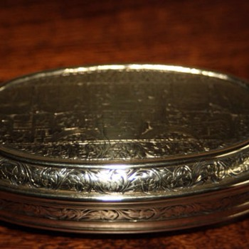 18th century tobacco tin