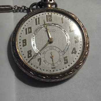 Illinois Pocket Watch with Dueber case movement s/n 4608783