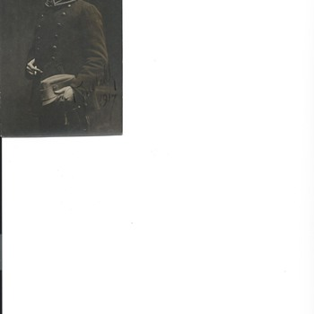 World War 1 Post Card from a German Soldier 1917 - Military and Wartime