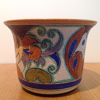 ROYAL PLAZUID - AMSTEL CACHEPOT - Art Pottery