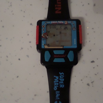 Nintendo Mario game watch