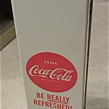 Coca Cola matchbook holder c. 1959