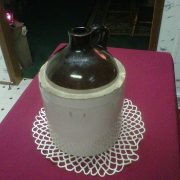 ~~XXX Moonshine Jug~~ - Art Pottery