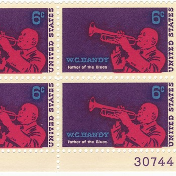 W.C. Handy stamp - Stamps