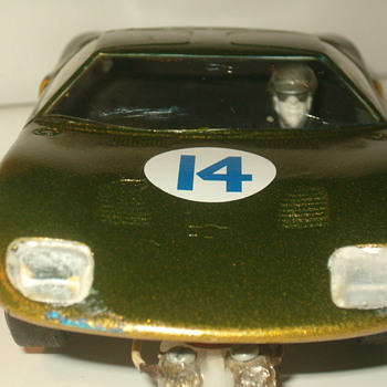 1/32 K&B FORD GT SLOT CAR