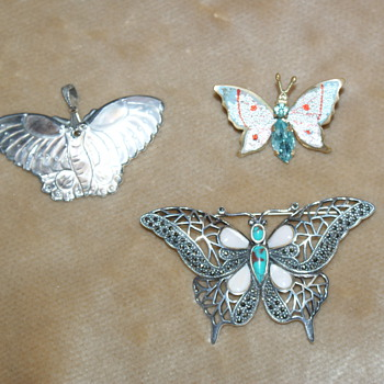 Butterfly Family - Costume Jewelry