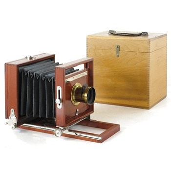Peerless Camera - c.1887 Rochester Optical Company - Cameras