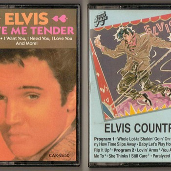 Elvis Presley - Cassette Tapes - Music