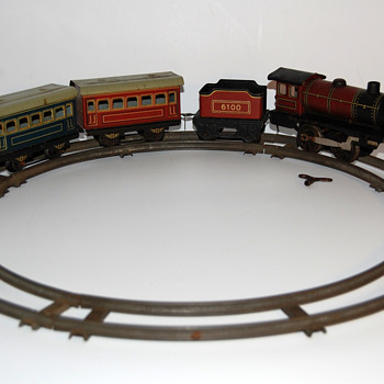 KBN Karl Bub clockwork tin train - Model Trains
