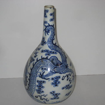 Rose vase? Japanese? - Asian