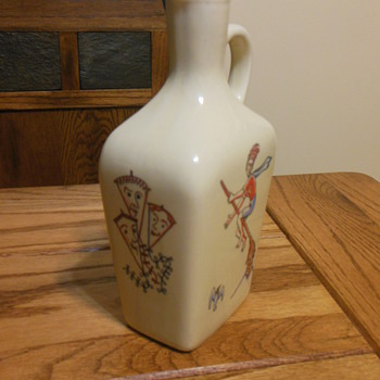 E &amp; A Bockling Neudenau Jug  - Art Pottery