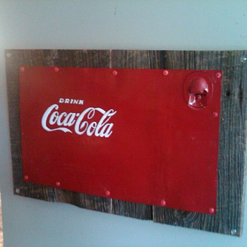 Salvaged Coca Cola bottle opener - Coca-Cola