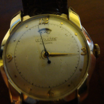 Vintage Le Coultre with power reserve indicator - Wristwatches