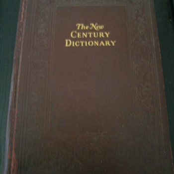 The New Century Dictionary - Books