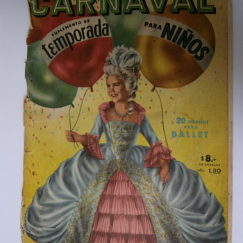 Vintage Magazine Carnival Costumes. - Paper