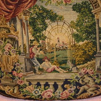 Vintage Tapestry Handbag - Bags