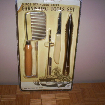 Garnishing set - Kitchen